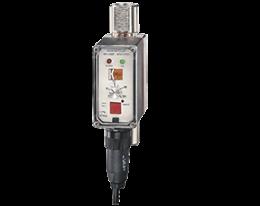 df-wm-durchfluss.png: Medidor, Monitor e Totalizador de Vazão tipo Rotativo DF-WM