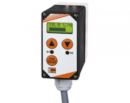 dft-13-e-g-durchfluss.png: Rotating Vane Flowmeter / Counter / Dosing Electronics DFT-13...E/G