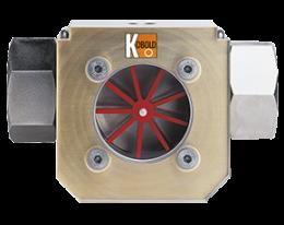dih-durchfluss.png: Rotating Vane Flow Indicator DIH