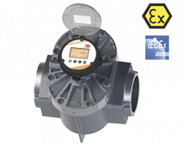 don-lcd-durchfluss.png: Oval Wheel Flowmeter DON-...LCD