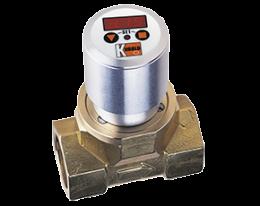 dpe-c3-durchfluss.png: Turbine Wheel Flowmeter - Compact Electronic DPE-..C3