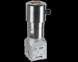 dpm-c3-durchfluss.png: Indicateur de débit à ailette, faible débit DPM-..C3