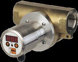 drg-c3-durchfluss.png: Rotating Vane Flowmeter - Compact Electronic DRG-..C3