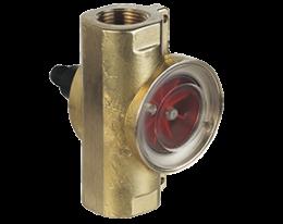 drg-f-l-durchfluss.png: Rotating Vane Flowmeter - Pulse / Analogue Output DRG-..F, DRG-..L