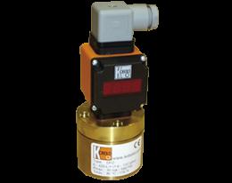 drz-auf-durchfluss.png: Piston Flowmeter - Analogue Output DRZ with AUF