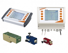duc-durchfluss.png: Ultrahangos áramlásmérő Clamp csatlakozással DUC