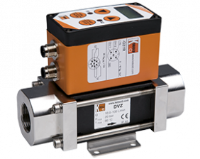 dvz-e-g-durchfluss.png: Vortex Flowmeter - Counter DVZ-..E