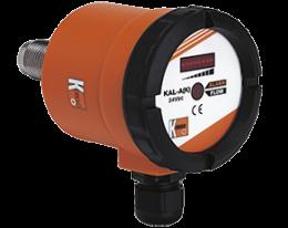 kal-ak-durchfluss.png: Medidor e Monitor de Vazão Calorimétrico KAL-A(K)