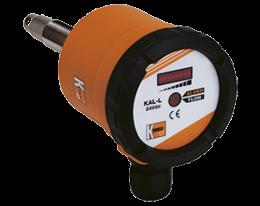 kal-l-durchfluss.png: Monitor de Vazão Calorimétrico para Gases KAL-L