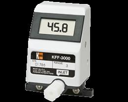 kff-kfg-3-durchfluss.png: Débitmètre électronique pour faible débit KFF-3, KFG-3