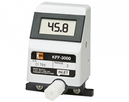 kff-kfg-3-durchfluss.png: Rotating Vane-Low Volume KFF-3, KFG-3