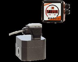 kza-adi-1-durchfluss.png: Gear Wheel-Dosing Electronics KZA with ADI