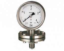 man-p-druck.png: Diaphragm Pressure Gauges MAN-P