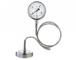 man-rf-drm-603-druck.png: Pressure Gauge with Membrane Diaphragm Seal DIN 11851 MAN-RF...DRM-603