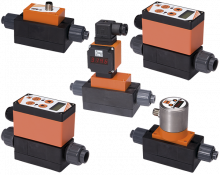 mik-durchfluss.png: Magnetisch-Induktiver Durchflussmesser/-wächter - Kompakt MIK