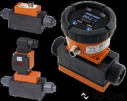 mik-durchfluss.png: Indicateur/contrôleur de débit électromagnétique MIK
