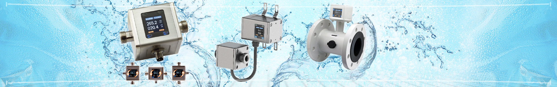 Industrial measuring and control equipment in the field of