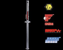 nbk-04-atex-fuellstand.png: Bypass niveaumeting voor topmontage NBK-04 ATEX