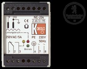 ne-204-fuellstand.png: Relais à électrodes §19 WHG NE-204