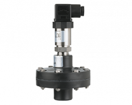 sen-drm-631-druck.png: Pressure Sensor with Membrane Diaphragm Seal PVC SEN..DRM-631