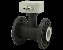 tur-2-m-durchfluss.png: Medidor de Vazão tipo Turbina TUR-2..M