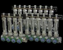 usr-durchfluss.png: Sıvılarda Çoklu Uygulamalar İçin USR Model Manifold Vanalar